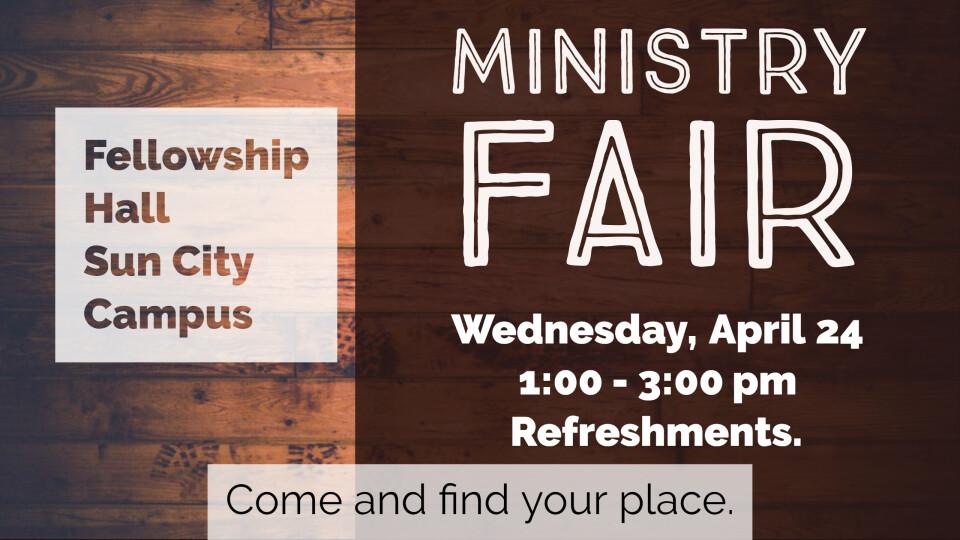 TWP Ministry Fair
