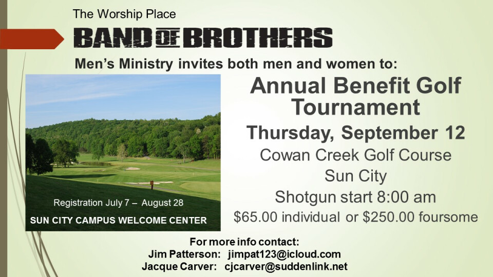 Benefit Golf Tournament