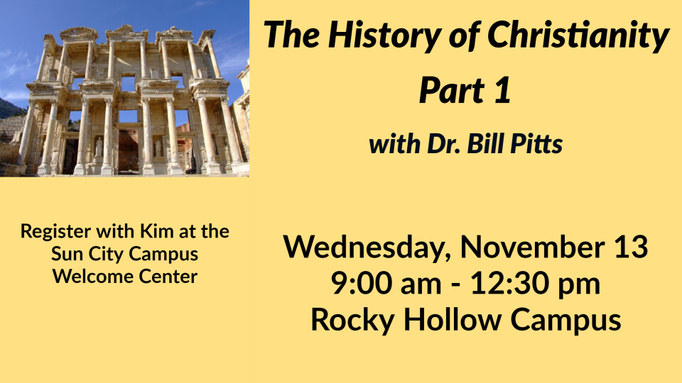 The History of Christianity, Part 1