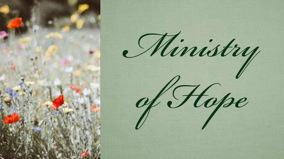 Ministry of Hope Support Group
