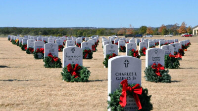 Central Texas Veterans Cemetery Wreath Laying