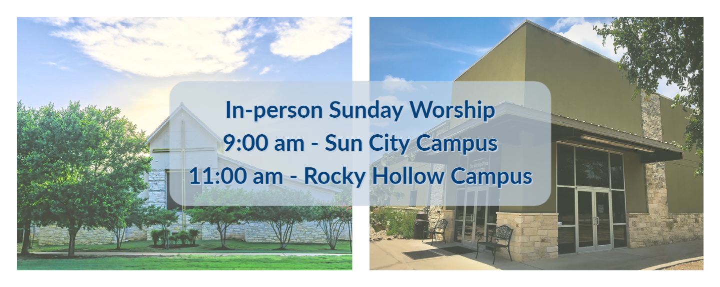 In-person worship (no reg.)